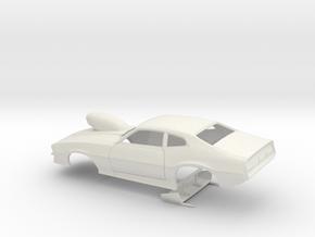 1/8 Pro Mod Maverick W Sm Cowl Scoop in White Natural Versatile Plastic