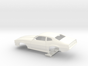 1/32 Pro Mod Maverick W Sm Cowl in White Processed Versatile Plastic