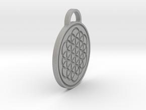Flower of Life / Metatrons cube Pendant in Aluminum