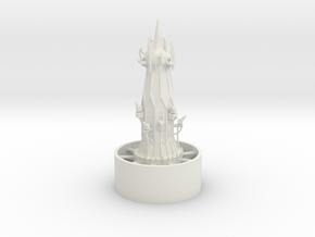 1/700 Hub Tower in White Natural Versatile Plastic