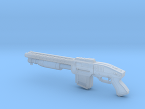 Zx76 Double Barrel Shotgun 1:14 scale in Frosted Ultra Detail