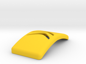 Citroen Keychain in Yellow Strong & Flexible Polished