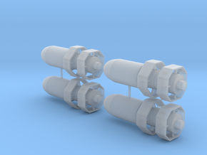 "VB-3 ""Razon"" Bomb in Smoothest Fine Detail Plastic: 1:48 - O"
