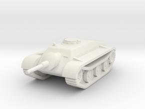1/144 Porsche Schwerer Kleiner Panzer (1st design) in White Strong & Flexible