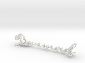 3dWordFlip: Sarmad/Parvaneh in White Strong & Flexible