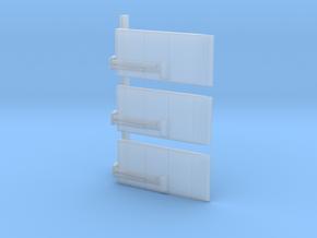Laadklep Smal 3 Stuks 1:87 in Smoothest Fine Detail Plastic