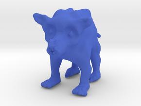 Wild Anicre in Blue Processed Versatile Plastic: Small