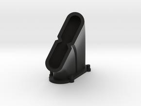 Avro Lanc Exhaust Right in Black Natural Versatile Plastic