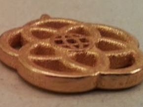 Epcot Logo Small Bail (0.9mm) in Polished Gold Steel