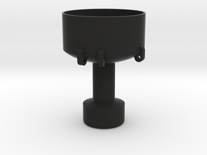 1/96 scale Buoy at Sea - Bottom in Black Natural Versatile Plastic