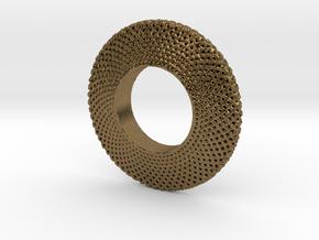 Fidget Spinner Simplest Wire in Natural Bronze