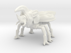Beetleback Dragon in White Natural Versatile Plastic