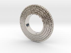 Fidget Spinner Honey Wire in Platinum
