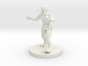 Ghoul in White Natural Versatile Plastic