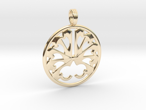 AURA STORM in 14K Yellow Gold
