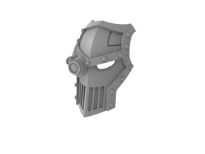 Iron Fists - Face Plate in Frosted Ultra Detail