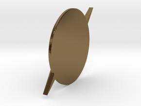 Flash-Custom Size in Polished Bronze