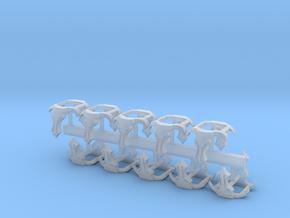 Minotaurs Badges Shoulder Pad X20 in Smoothest Fine Detail Plastic