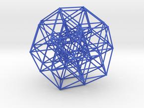 6 Cube to H4 in Blue Processed Versatile Plastic