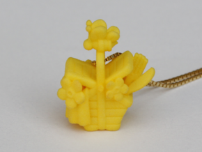 A Bee's Picnic in Yellow Processed Versatile Plastic