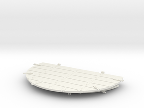 1/16 Flak Panther Decking in White Natural Versatile Plastic