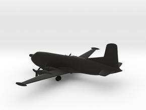 Douglas C-124 Globemaster II in Black Natural Versatile Plastic: 1:500