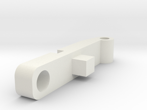 Striker AA Flatnub Arm in White Natural Versatile Plastic