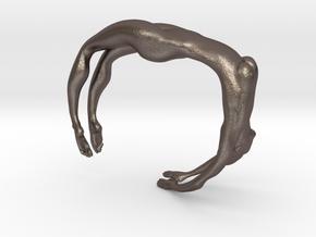Female figure bracelet in Stainless Steel
