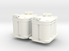 Optima Battery 1/12 X2 in White Processed Versatile Plastic