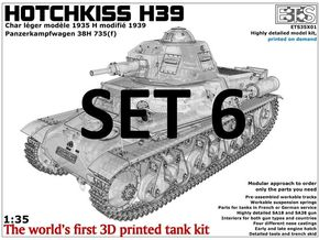 ETS35X01 - Set 6 - Engine Compartment (extra) in Frosted Ultra Detail