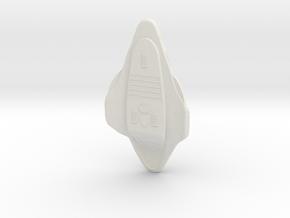 Voy Delta Flyer small in White Natural Versatile Plastic