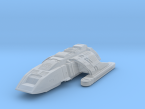 Ds9 Danube Class Runabout in Smooth Fine Detail Plastic
