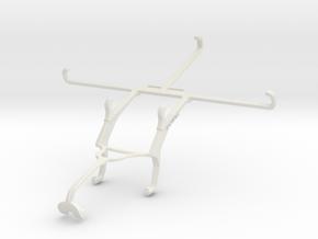 Controller mount for Xbox 360 & Sharp Aquos Pad SH in White Natural Versatile Plastic