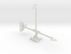 Sharp Aquos Pad SH-06F tripod & stabilizer mount in White Natural Versatile Plastic