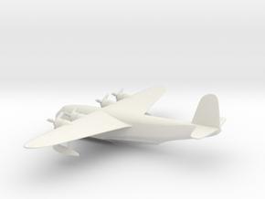 Short S.23 Empire in White Natural Versatile Plastic: 6mm