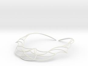 Nouv Necklace in White Natural Versatile Plastic