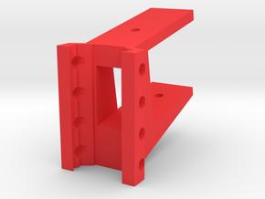 AK Receiver Picatinny Mount Adapter (Horizontal) in Red Processed Versatile Plastic