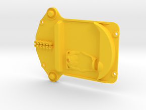 Interior tray for Fly 250LM in Yellow Processed Versatile Plastic