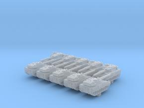 1/600 ASCOD Ulan LT105 Light Tank x10 in Smoothest Fine Detail Plastic