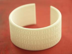 They Walk Among Us!! - Bracelet in White Natural Versatile Plastic