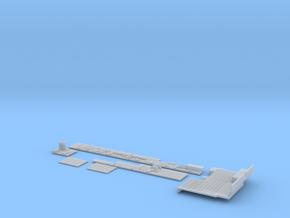 1:350 Scale Nimitz Class Hangar Bay 1 in Smooth Fine Detail Plastic