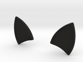 CATs EARS for dash board in Black Natural Versatile Plastic