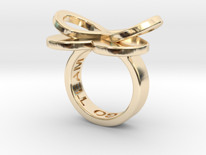 AMOUR in 14k gold in 14K Gold: 5.5 / 50.25