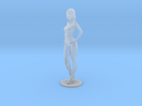 1/43 Race Queen 03 with Base in Smooth Fine Detail Plastic
