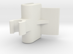 NISSAN XTRAIL TANNEAU PARCEL SHELF CLIP in White Natural Versatile Plastic