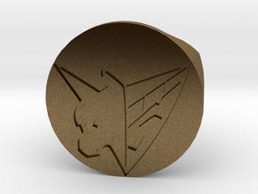 1/1 Sugo Ring 15 mm Diameter  in Natural Bronze