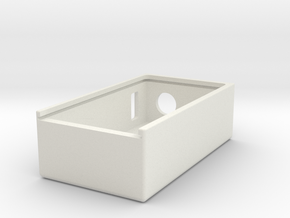 "Talymod Slider ""BOX"" in White Natural Versatile Plastic"