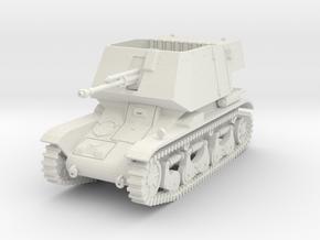 PV185D 4.7cm Pak(t) auf Pzkw 35R(f) (1/56) in White Natural Versatile Plastic