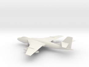 Vickers Valiant B.1 in White Natural Versatile Plastic: 1:200