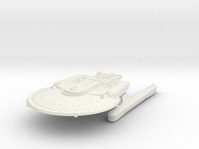 "Danielle Class B  Destroyer 5.5"" in White Natural Versatile Plastic"